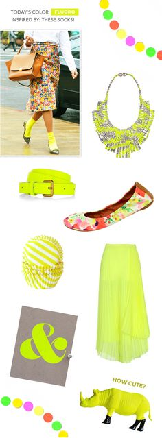 Bring on the neon!