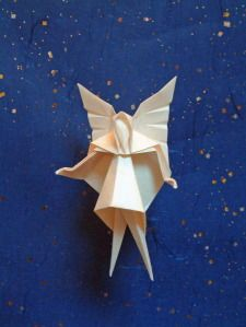 Origami Fairy Free Diagram Download - http://www.papercraftsquare.com/origami-fairy-free-diagram-download.html#Diagram, #Fairy, #Origami