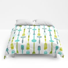 Our comforters are cozy, lightweight pieces of sleep heaven. Designs are printed onto 100% microfiber polyester fabric for brilliant images and a soft, premium touch. Lined with fluffy polyfill and available in king, queen and full sizes. Machine washable with cold water gentle cycle and mild detergent.