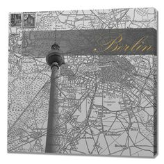 Eternal Berlin Graphic Art on Wrapped Canvas