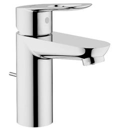 Grohe 23084 000 BauLoop Centerset Lavatory Faucet, Starlight Chrome at PlumberSurplus.com