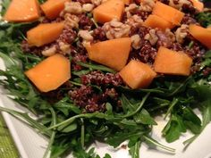 Red Quinoa, Almond And Arugula Salad By Marco Borges) Recipe - Food.com