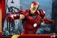 Iron Man – 1/4th Scale Mark III Collectible Figure Coming Soon     DisKingdom.com   Disney   Marvel   Star Wars - Merchandise News Iron Man Suit, Iron Man Armor, Batman Universe, Marvel Cinematic Universe, First Iron Man, Mythological Monsters, Iron Men 1, Star Wars Merchandise, Disney Marvel