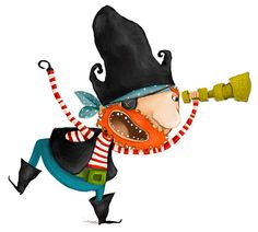 inspiring art by Valeria Docampo Summer Fun For Kids, Art For Kids, Book Illustration, Character Illustration, Kid Character, Character Design, Decoration Pirate, The Pirates, Cute Cartoon Drawings