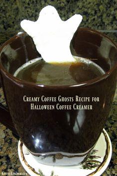 Coffee Ghost Shaped Creamer