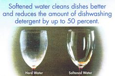A filtered water system leads to softer water. Click the link to learn the benefits of soft water.