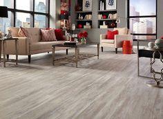 5mm Grizzly Bay Oak Click Resilient Vinyl - Tranquility | Lumber Liquidators