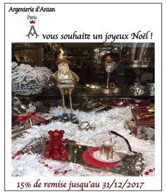 Argenterie d'Antan participe à vos #cadeauxdenoel en vous offrant 15% de remise sur des prix doux #silver #christofle #ornemental #chrismas #gifts