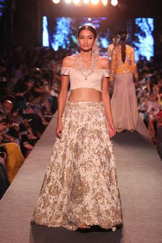 Spring Summer'15 Collection by Manish Malhotra. Meet the designer at the Vogue Wedding Show, register here: http://weddingshow.vogue.in/