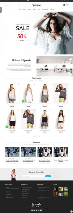 SNS Lavenda - Responsive Magento Theme has 8+ homepage layout and with powerful features, easy to customize, power admin, cool effect. #eCommerce #website