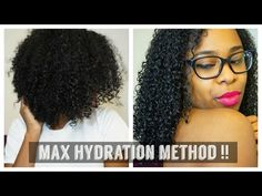 Max Hydration Method on 3C Hair - YouTube