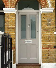 Victorian front doors on pinterest front doors london for Victorian front door colours