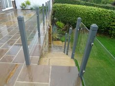 acrylic railing panels exterior - Google Search