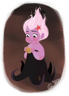 Disney Little Villain - Ursula by Vivianne Du Bois