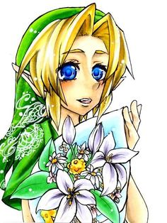 Link - Knight of flowers