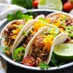 these slow cooker carnitas are an easy and healthy dinner recipe that simmers in the crock pot all day long pork recipes pork tenderloin mexican food - The world's most private search engine Healthy Mexican Recipes, Healthy Crockpot Recipes, Pork Recipes, Slow Cooker Recipes, Healthy Dinner Recipes, Mexican Meals, Mexican Dishes, Vegetarian Meals, Crockpot Meals