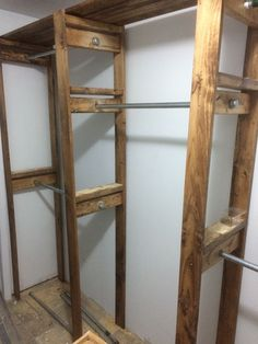 Custom Industrial Style Closet | Do It Yourself Home Projects from Ana White We are want to say thanks if you like to share this post to another people via your facebook, pinterest, google plus or twitter account. Right Click to save picture or tap and hold for seven second if you are using...