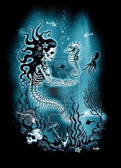 Dead Mermaid by ScreamingDemons.deviantart.com on @deviantART