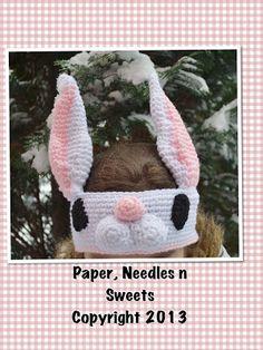 Paper, Needles n Sweets : Easter Bunny Headband