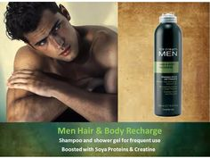 Inebrya Mens Hair & Body Recharge - suitable for frequent use!