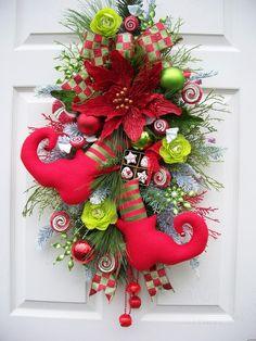 elf Wreath decor