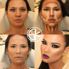 Makeup Before And After...Unbelievable! (9 Photos)