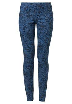 Vero Moda LOVELY FLOWER Leggings bleu