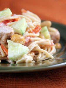 Pasta is love! Oriental Chicken Pasta Salad #recipe