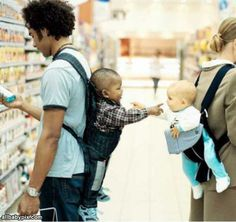 Children don't discriminate, they see people, not color.