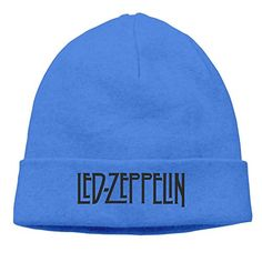 Mans LED ZEPPELIN Rock Band Logo Robert Plant Slouchy Beanie Watch Cap ** Want additional info? Click on the image. (Note:Amazon affiliate link)