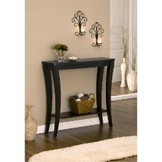 Enitial Lab Montecito Hallway Console Table ** Check out the image by visiting the link. (This is an affiliate link) Hallway Console, Narrow Console Table, Modern Console Tables, Home Decor Furniture, Table Furniture, Entry Tables, Foyer Decorating, Vestibule, Entryway Decor