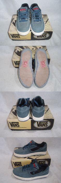 Childrens Vintage Shoes 182034  Nos Vintage 1994 Vans Style - Dna Color -  Steel Blk Mens 7.5 Sk8 Bmx Shoes -  BUY IT NOW ONLY   100 on eBay! c20d77a4d