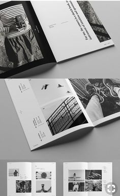 Layout is clean, minimal type to give a polished look prj шр Page Layout Design, Magazine Layout Design, Book Layout, Editorial Design, Editorial Layout, Grafik Magazine, Coffee Table Book Design, Design Room, Mises En Page Design Graphique
