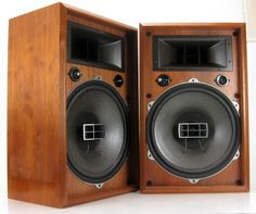 "PIONEER CS-901 FLOOR SPEAKERS 15"" COAXIAL WOOFERS HORNS * NICE! #Pioneer"