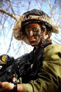 \\\The beautiful half of the Israeli army///