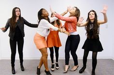 You can't find your glasses: | All The Fifth Harmony Reaction GIFS You'll Ever Need