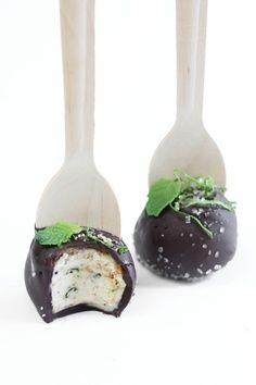 Mojito Cheesecake Pops
