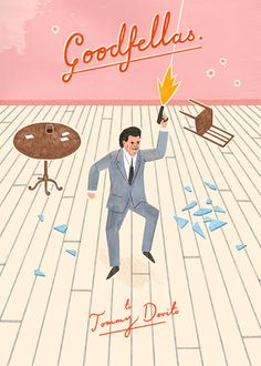 Goodfellas illustration by Owen Gatley (via grain edit) #OwenGatley #goodfellas