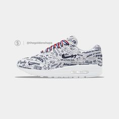 25b711c134 Nike Air Max 1 Grand Paris White Air Max 1, Nike Air Max, Air
