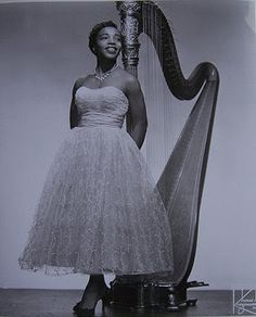 """Dorothy Ashby, jazz harpist - A rare treat is her album """"The Fantastic Jazz Harp of Dorothy Ashby"""" or the single """"Flighty.""""  Check them out if you ever have the opportunity to do so.  RARE but GREAT music! Hard to find but worth seeking."""
