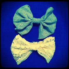 DIY bows + tutorial  Matching bows for Hair & shoes!
