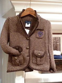 Great Gatsby style tweed blazer jacket from Ralph Lauren for fall 2013 kids fashion