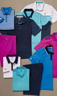 Keep cool when the pressure heats up in this look from adidas Golf. | Golf Galaxy