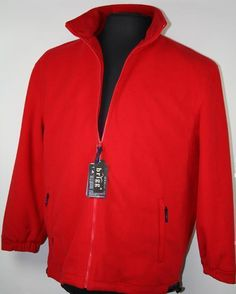 *NEU! BRIGG Fleecejacke 10723514-100 Rot 1-10XL http://www.the-big-gentleman-club.com/