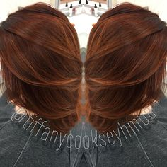 Autumn Color, Fall Color, Auburn Hair, Copper Hair, Red Hair, Color Melt, Balayage, Sombre, Ombre, Hair, Hair Inspiration, Ulta Beauty, Ulta, The Salon At Ulta, Orland Park, Chicago, Chicagoland, Chicago Hairstylist, Hair Colorist, Colorist, TiffanyCookseyHMUA