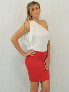 #shopdailychic.com        #Skirt                    #Take #Down #Paradise #City #Skirt #Ruby #Grapefruit #International #Shipping                           Take Me Down to Paradise City Skirt in Ruby Red Grapefruit | International Shipping                                               http://www.seapai.com/product.aspx?PID=408266