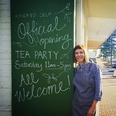 Yes!!  Shop 5 Jetty Street Grange #kindredself #openingteaparty #teaandchats #shoplocal #shopsmall #kindredselfcounselling #wellnessstudio #counsellor #wellnessmentor #tinyshop #supportlocal #supportlocalbusiness #chalkboard #greenchalkboard #smallshop #cuteshop by kindred_self