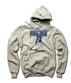 Josh Donaldson MLBPA Officially Licensed Toronto Youth Hoodie S-XL Josh Donaldson Score B