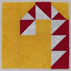 Candy Cane quilt label tutorial @Walnut Street Quilts