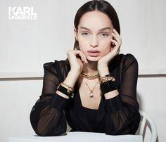 Karl Lagerfeld x Swarovski Jewelry Collection  2017